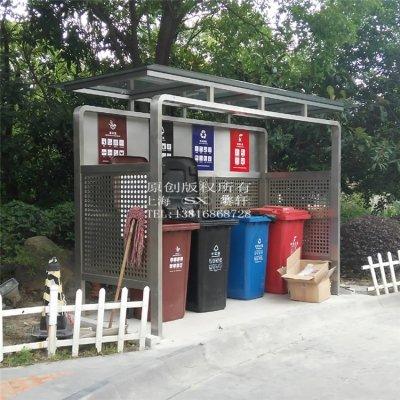 上海宝山顾村镇垃圾收集亭