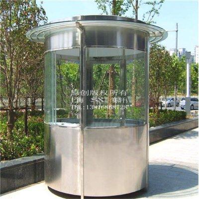 上海不锈钢岗亭_浅析不锈钢表面处理技术